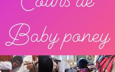 babyponey sur réservation